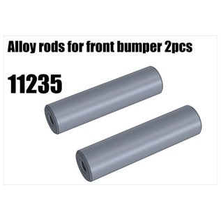 RS5 Modelsport Alloy rods for front bumper 2pcs