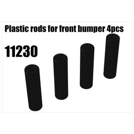 RS5 Modelsport Plastic rods for front bumper