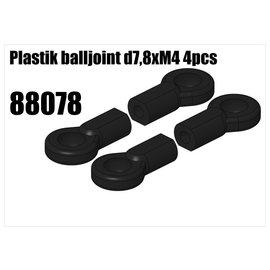 RS5 Modelsport Plastik balljoint d7,8xM4
