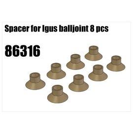 RS5 Modelsport Spacer for Igus balljoint 8pcs