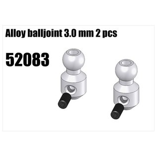 RS5 Modelsport Alloy balljoint 3.0mm 2pcs