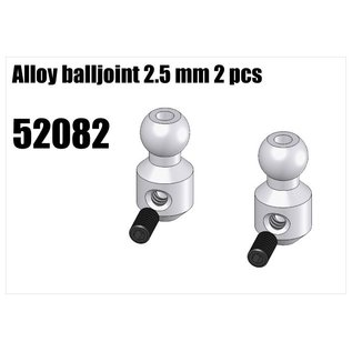 RS5 Modelsport Alloy balljoint 2.5mm 2pcs