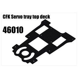 RS5 Modelsport CFK Servo tray top deck