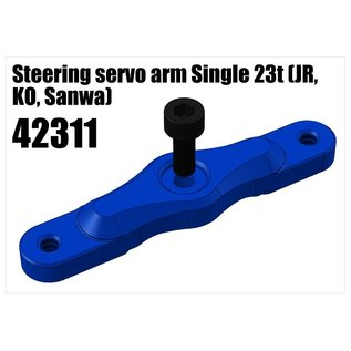 RS5 Modelsport Alloy double servo arm 23t (JR, KO, Sanwa)