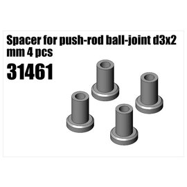 RS5 Modelsport Steel Spacer for push-rod ball-joint d3x2 mm