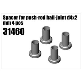 RS5 Modelsport Steel Spacer for push-rod ball-joint d4x2 mm