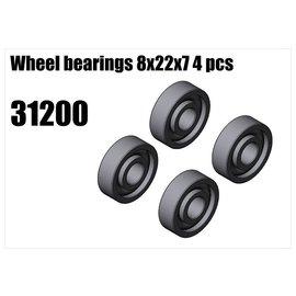 RS5 Modelsport Wheel bearings 8x22x7