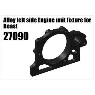 RS5 Modelsport Alloy left side Engine unit fixture for Beast
