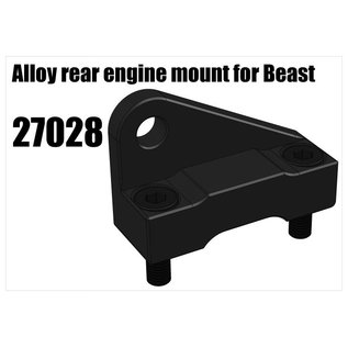 RS5 Modelsport Alloy rear engine mount for Beast