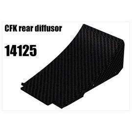 RS5 Modelsport CFK rear diffusor