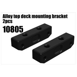 RS5 Modelsport Alloy top deck mounting bracket 2pcs