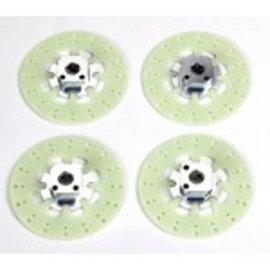 HARM Racing Felgenvierkant 10.5mm u. 12.5 mit Bremsscheiben Evo