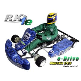 HARM Racing Kart RK-1E e-Drive Chassiskit Bausatz
