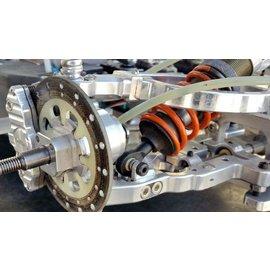 HARM Racing Tuning- schokdempersteun voor met draagarmen