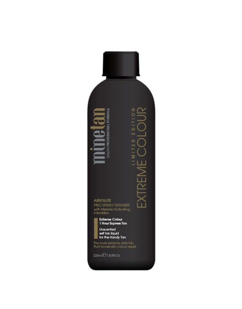 MineTan Mine Tan Pro Solution Extreme Colour 15% DHA 220 ml Spray Tanning Mist