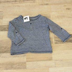 H&M BLAUW T-SHIRT | H&M | maat 98/104