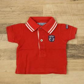 River Woods ROOD POLOSHIRTJE | River Woods | maat 3M