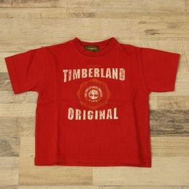 Timberland ROOD T-SHIRTJE  | TIMBERLAND | MAAT 2J