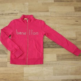 United Colors Of Benetton ROZE TRUI MET RITS | UNITED COLORS OF BENETTON | MAAT 150