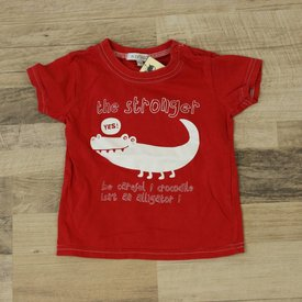 ROOD T-SHIRTJE  | IN EXTENSO | MAAT 86