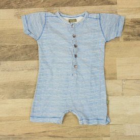 Kids Case BLAUW GESTREEPTE PLAYSUIT | Kids Case | maat 74