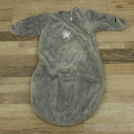 BabyBoum GRIJZE FLEECE SLAAPZAK | BabyBoum | maat Newborn