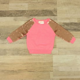 Simple Kids ROZE TRUI MET PAILETTEN | Simple Kids | maat 1J