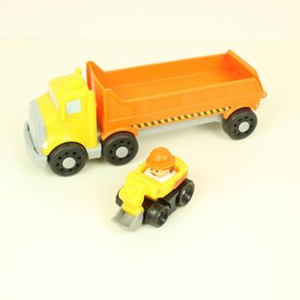 Fisher Price LITTLE PEOPLE VRACHTAUTO   Fisher Price