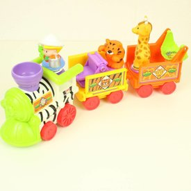 Fisher Price LITTLE PEOPLE MUSICAL ZOO TRAIN   Fisher Price