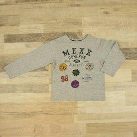 Mexx GRIJS T-SHIRT MET OPDRUK   MEXX   MAAT 110/116