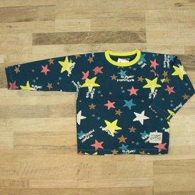 Color Kids BLAUW GEPRINTE T-SHIRT   COLOR KIDS   MAAT 116/122