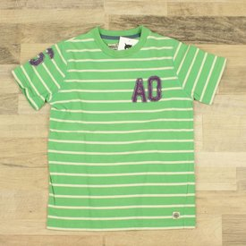 American Outfitters GROEN GESTREEPT T-SHIRTJE   AMERICAN OUTFITTERS   MAAT 10J