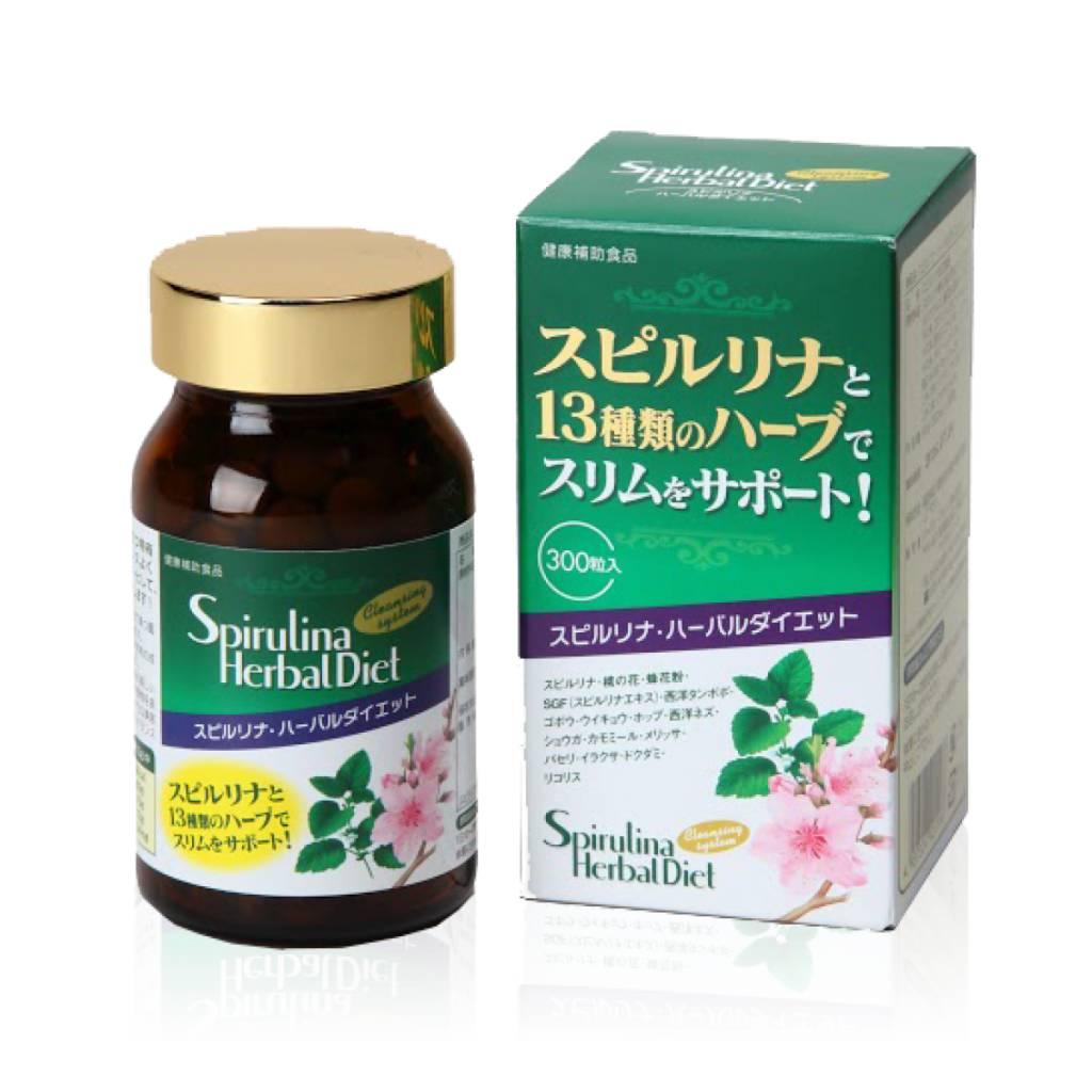 Spirulina Herbal Diet