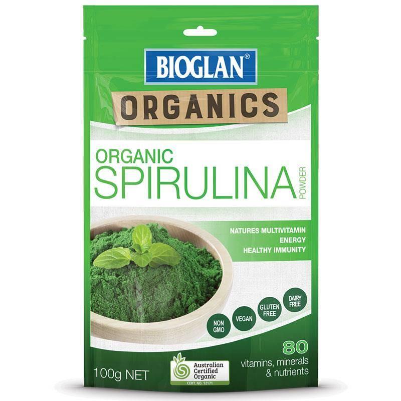 Bioglan Organic Spirulina
