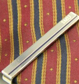 Pins / Badges SMU Tie Clip, Silver