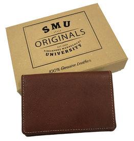 Namecard Holder Genuine Leather Card Holder Brown
