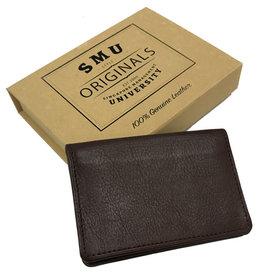 Namecard Holder Genuine Leather Card Holder Dark Brown