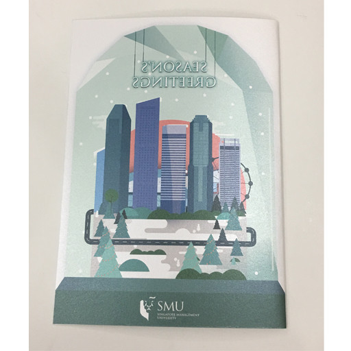 Miscellaneous SMU Christmas Card, Green