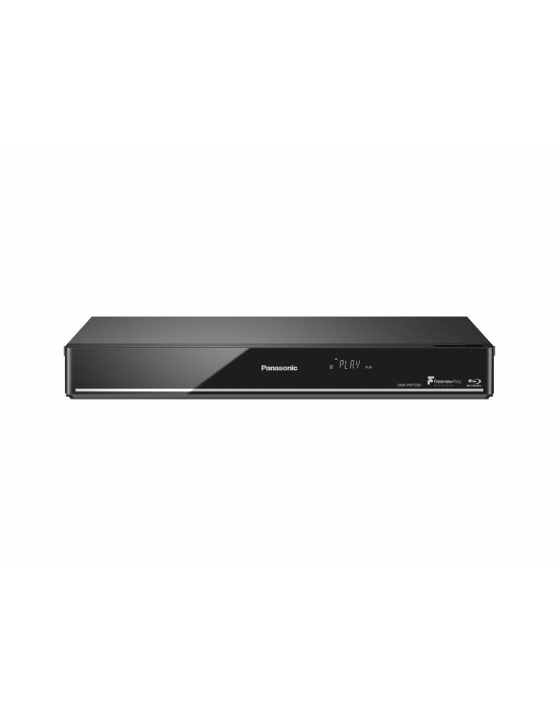 PANASONIC DMRPWT550EB HDD/BLU RAY PLAYER
