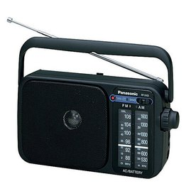 PANASONIC RF2400DEBK FM/AM RADIO