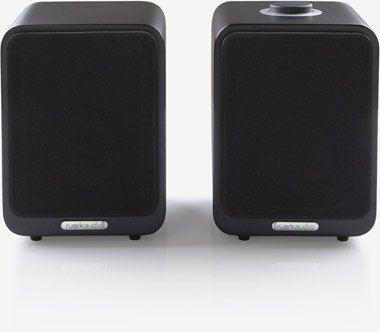 RUARK MR1 SOFT BLACK LOUDSPEAKER PAIR