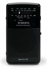 ROBERTS SPORTS925 BLACK PORTABLE RADIO