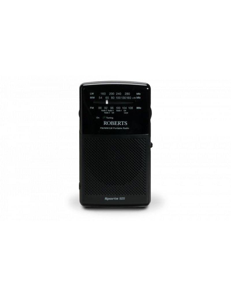 ROBERTS SPORTS925 BLACK PORTABLE RADIO
