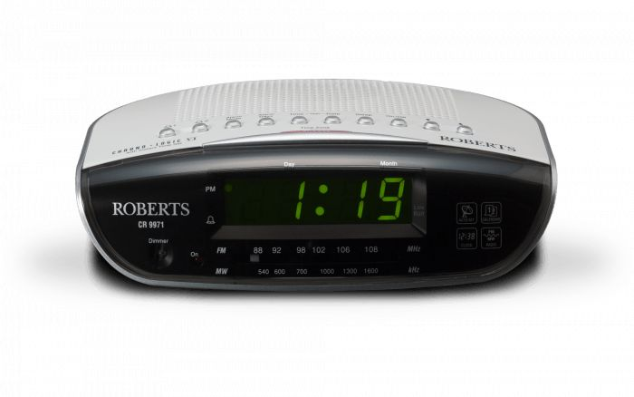 ROBERTS CR9971 ALARM CLOCK RADIO