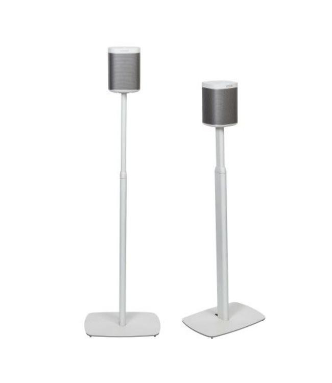 FLEXSON FLEXSON PLAY:1 ADJUSTABLE STANDS WHITE PAIR