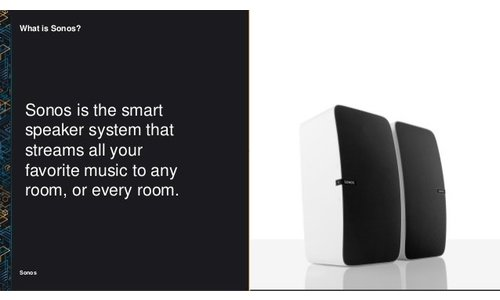 What is Sonos?