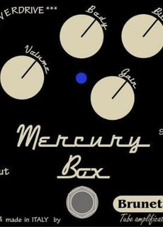 Brunetti Brunetti Mercury Box Overdrive Distortion
