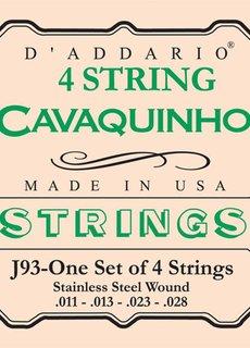 D'Addario D'Addario J93 Cavaquino Strings