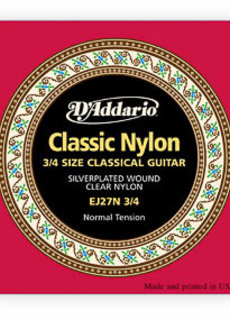 D'Addario D'Addario EJ27 3/4 Classic Nylon Normal Tension