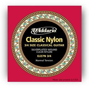 D'Addario D'Addario EJ27 3/4 Classic Nylon Normal Tension